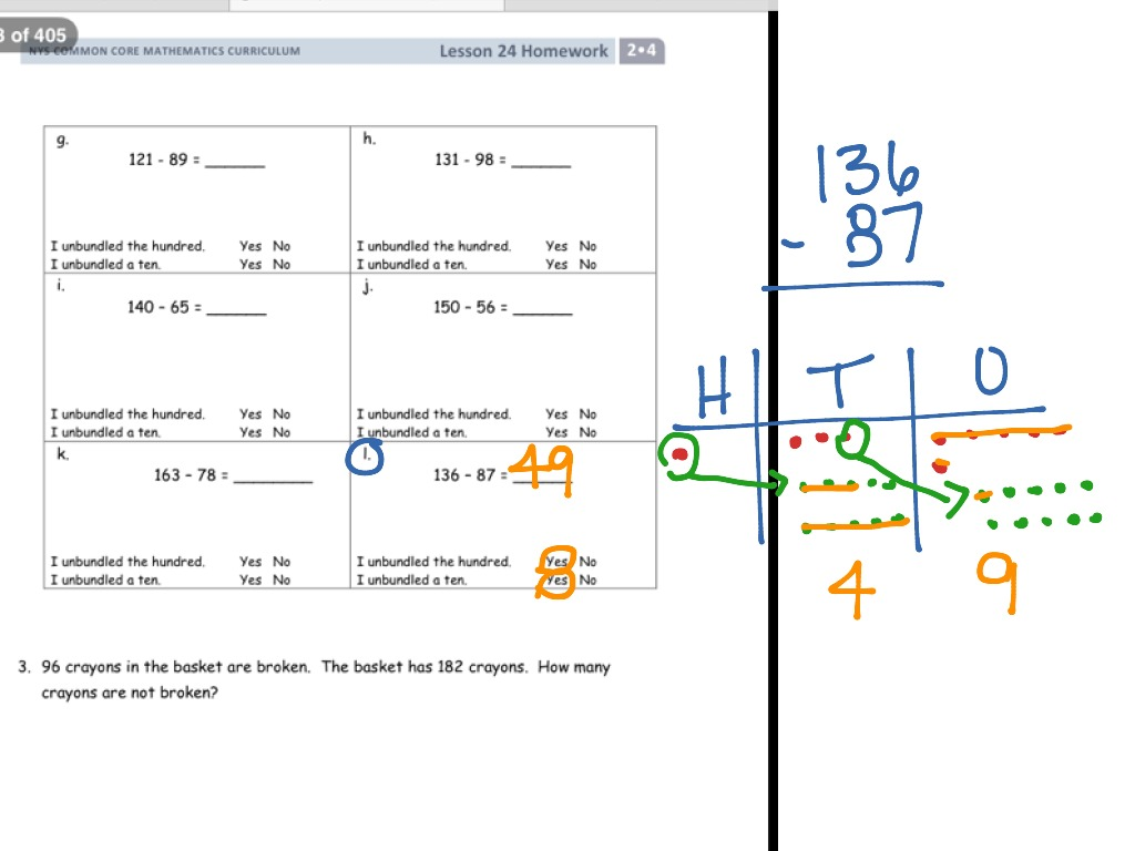 eureka math lesson 24 homework 4.3