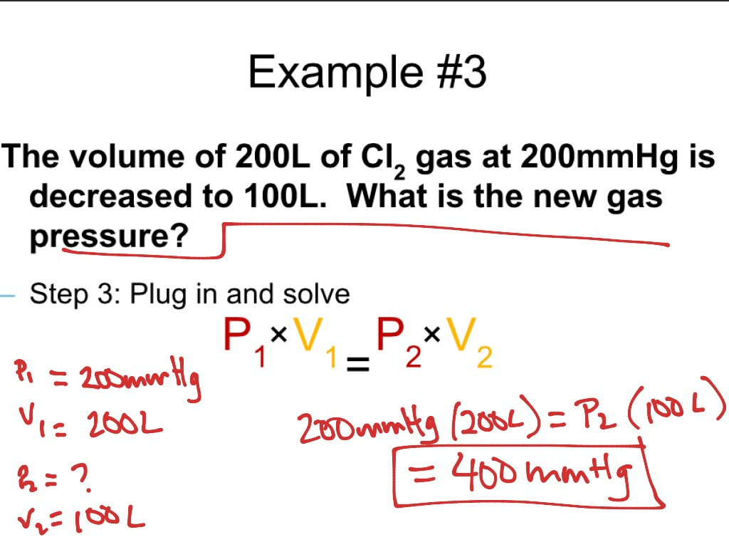 ShowMe - derivation of combined gas law