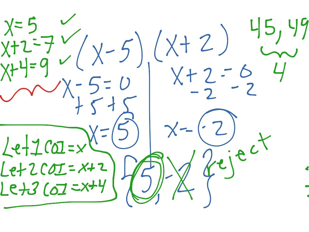 Harder quadratic word problems with consecutive integers ...