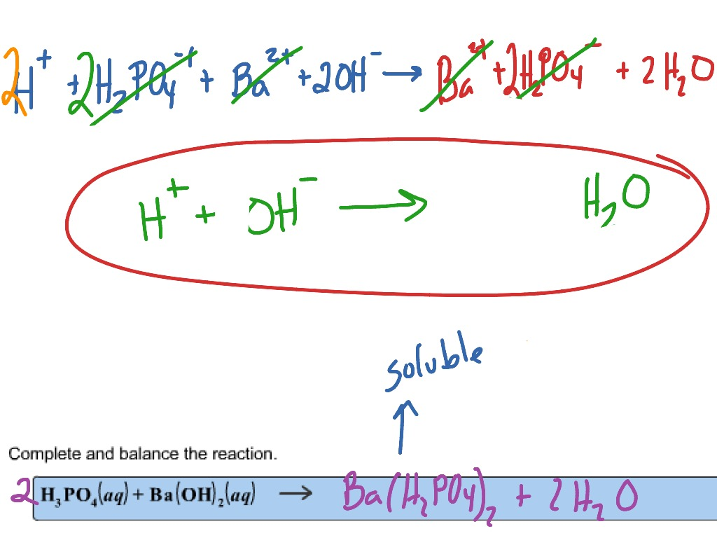 Net ionic phosphoric acid and barium hydroxide science net ionic phosphoric acid and barium hydroxide science chemistry chemical reactions showme biocorpaavc Images
