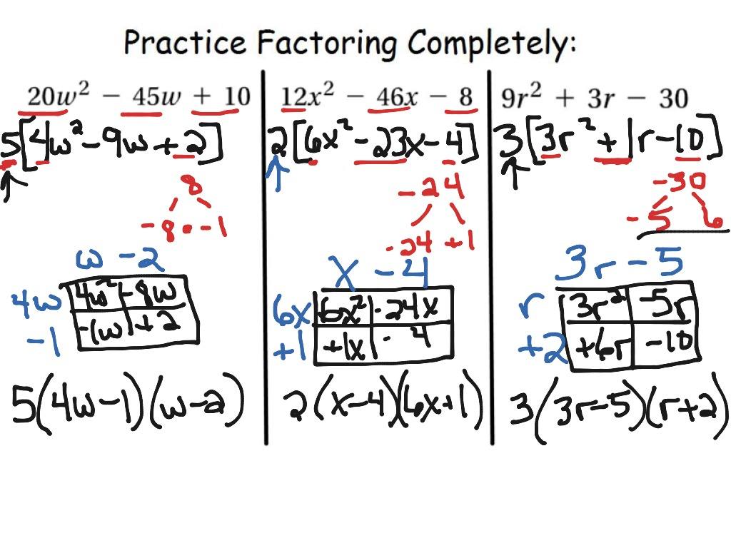 factoring polynomials Factoring the process of factoring is essential to the simplification of many algebraic expressions and is a useful tool in solving higher degree equations.