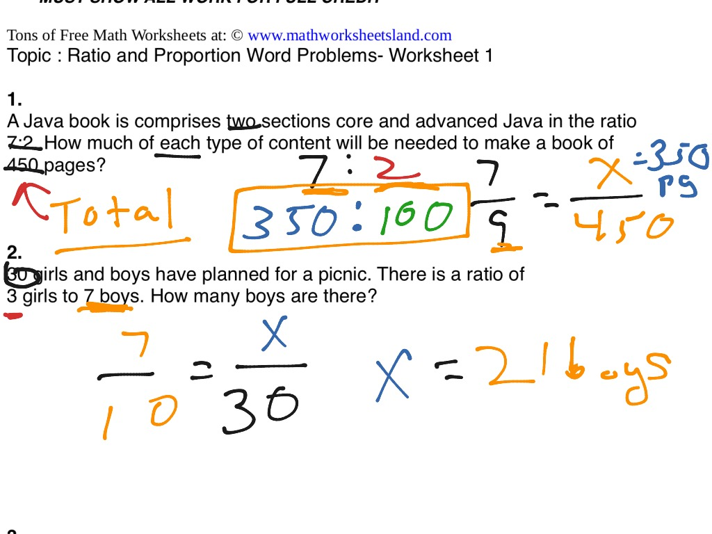 worksheet Ratio And Proportion Word Problems Worksheet ratio proportions word problems math showme