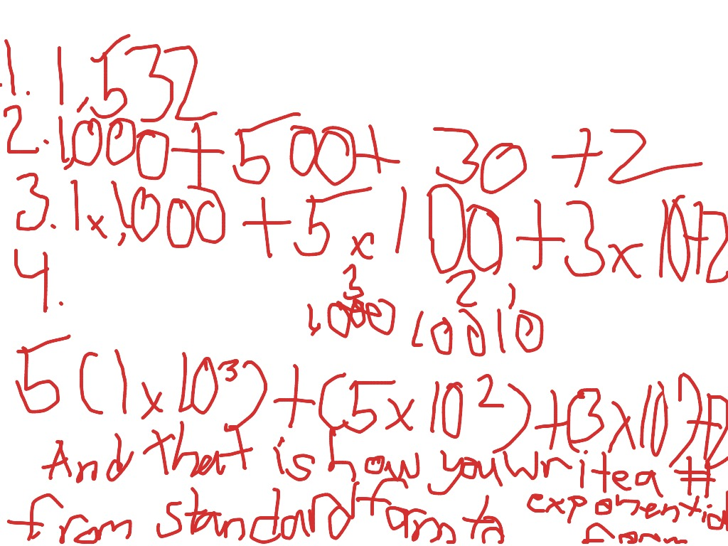 How to write a number from standard form to exponential form how to write a number from standard form to exponential form math showme falaconquin