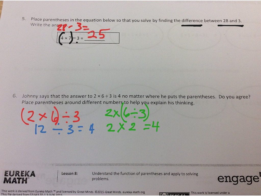 eureka math lesson 2 homework 3.3