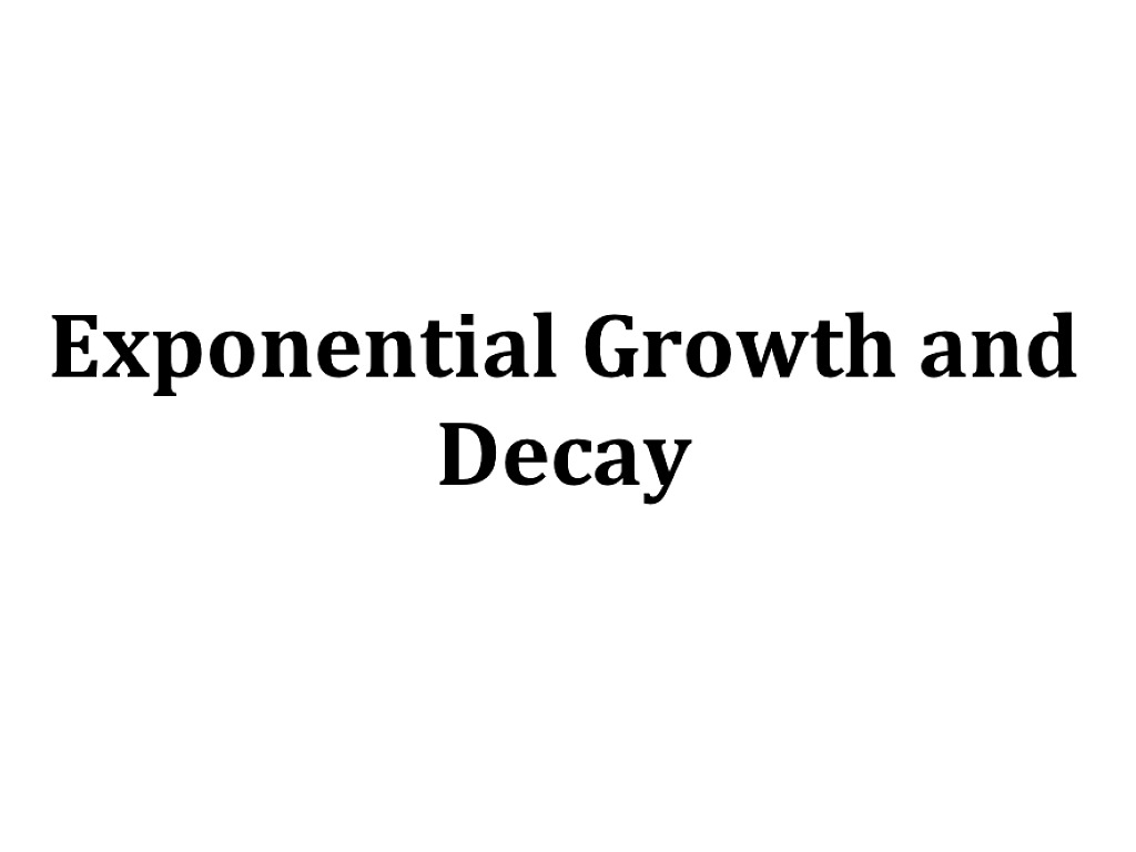 61 Exponential Growth and Decay – Exponential Growth Decay Worksheet