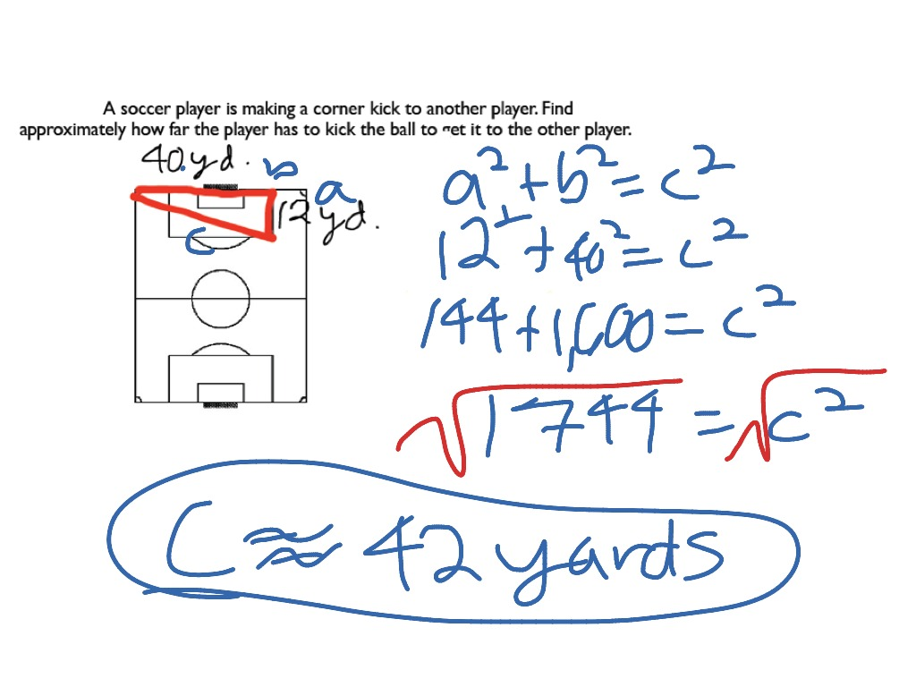 ShowMe two column proof pythagorean theorem using similar trianglezs – Pythagorean Theorem Word Problems Worksheet with Answers