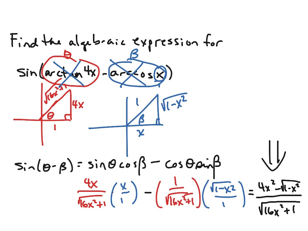 how to use exact value triangles