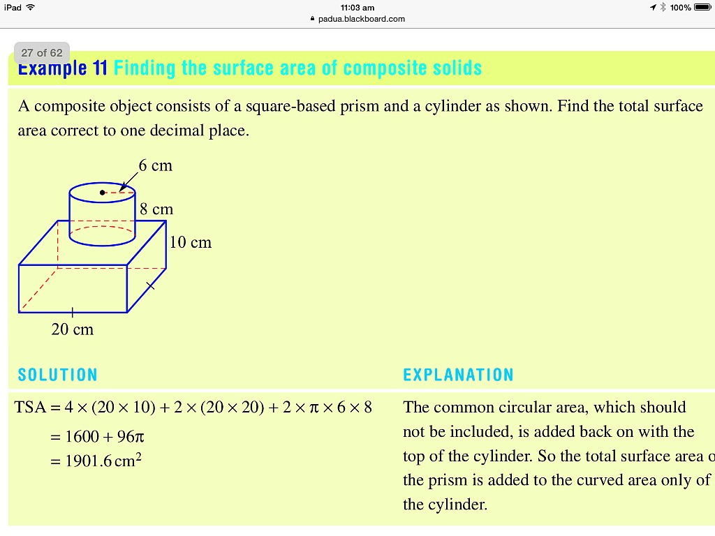 how to find surface area of right angled triangular prism